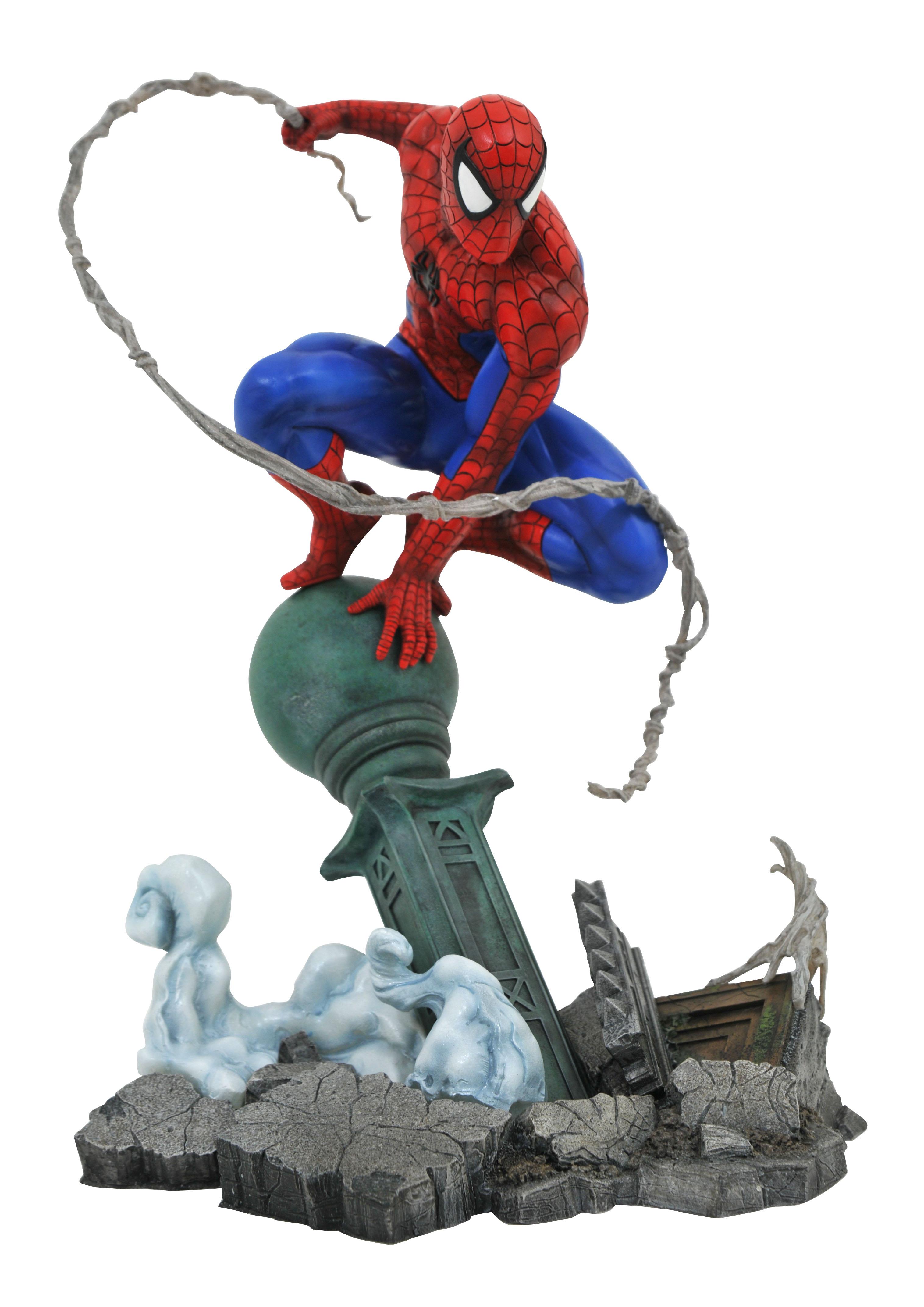 Spider-Man (Lampost) Gallery Diorama