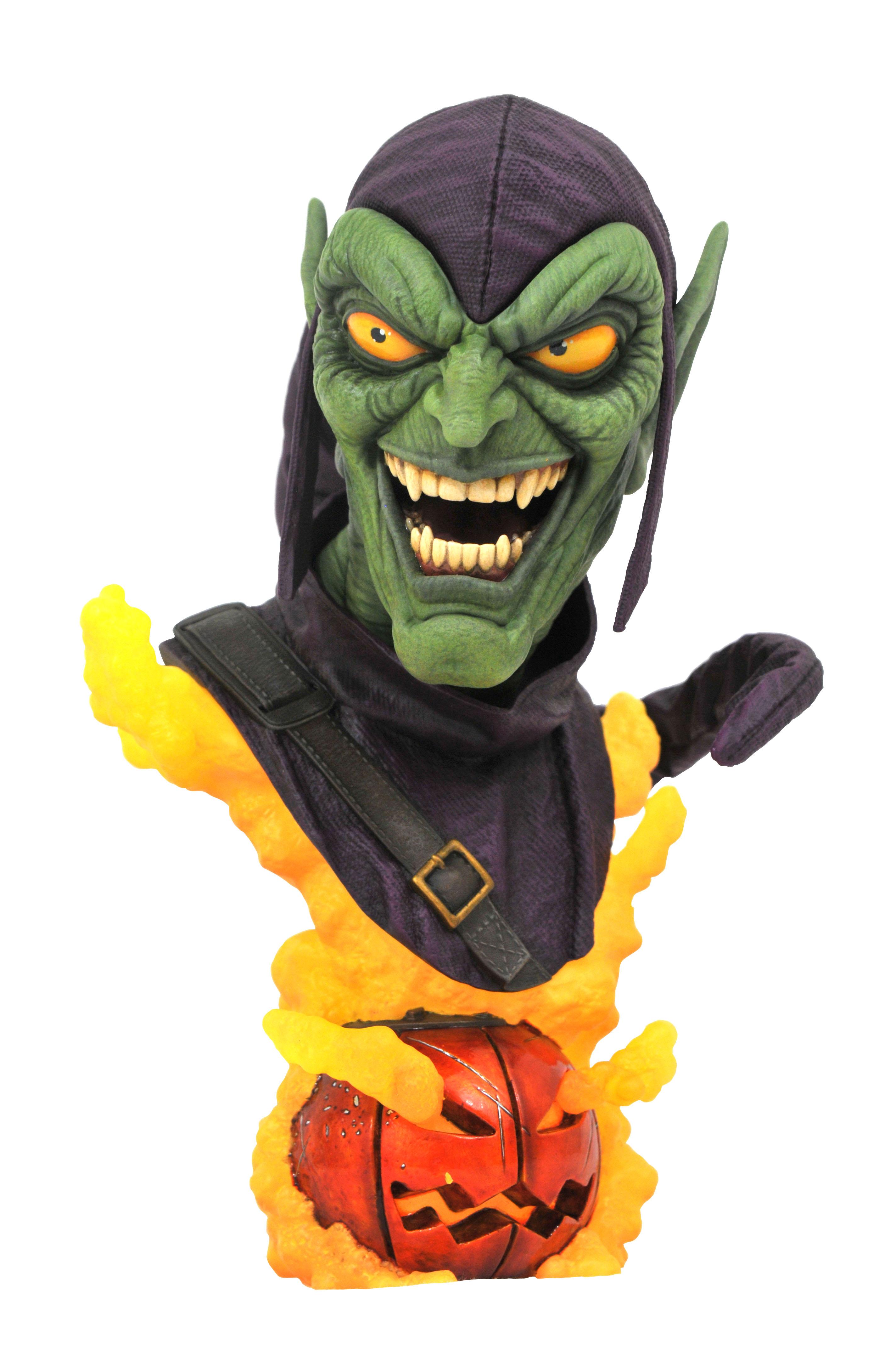 Green Goblin Legends in 3-Dimensions Bust